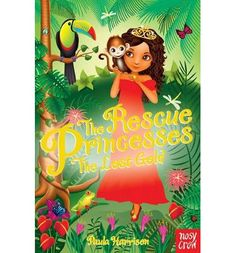 Princess Isabella loves her rainforest kingdom and its amazing creatures. So she's very worried when treasure hunters start digging up the forest and scaring all the animals. Thank goodness she has the other Rescue Princesses to help her. Author Paula Harrison