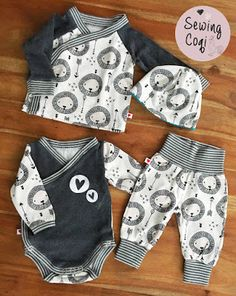 ♡ Pattern: Pullover: Defiance of Schnabelina Body: Wrap body of Klim . ♡Schnittmuster: Pullover: Trotzkopf von Schnabelina Body: Wickelbody von Klim… ♡ Pattern: Pullover: Stubborn head of Schnabelina Body: Wrap body by Klim … – Toddler Outfits, Baby Boy Outfits, Kids Outfits, Sewing Clothes, Diy Clothes, Baby Boy Fashion, Kids Fashion, Vêtement Harris Tweed, Baby Pullover