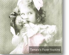 Paper Napkins for Decoupage and Party by tamaraspapernapkins Shabby Chic Napkins, Paper Napkins For Decoupage, Etsy Seller, Handmade Gifts, Vintage, Kid Craft Gifts, Craft Gifts, Vintage Comics, Diy Gifts