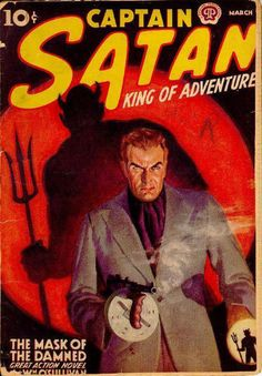 'Captain Satan; King Of Adventure' Pulp Fiction