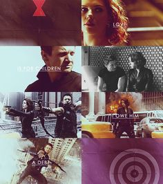 S.H.I.E.L.D. .... Black Widow & Hawkeye