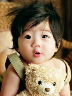 Dzieci lubią misie, misie lubią dzieci - na całym świecie :)