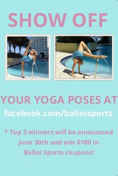 Balini Sports' new yoga contest is here! #yoga #yogapose #contest #balinisports #workout #fit #fitness