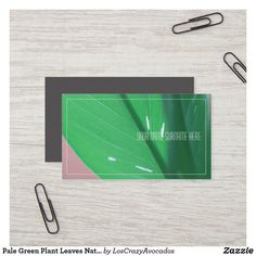 Shop Pale Green Plant Leaves Nature Feel Business Card created by LosCrazyAvocados. Green Organics, Love Natural, Nature Plants, Green Plants, Business Cards, Plant Leaves, Things To Come, Feelings, How To Make