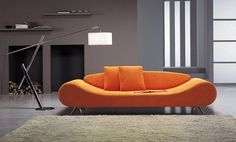 Orange harmony sofa