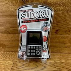 Sudoku Electronic pocket arcade handheld Of Games 4 Skill Levels Game 4, Game Sales, Puzzle Toys, Family Games, Arcade, Hold On, Pocket, Digital, Mini