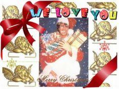"""ma vidéos faite avec les fans de George Michael pour lui souhaiter un """"happy christmas"""",et lui dire combien nous l'aimons."""