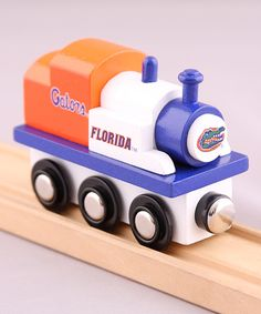 Look at this Florida Gators Toy Train Engine on #zulily today!