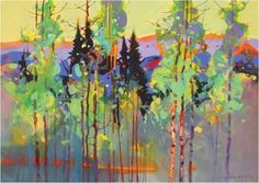 """The Land that We Love: A look at Revelatory Contemporary Landscape Painting"" featured the #watercolor #art of Stephen Quiller 
