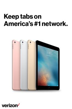 Get the best iPad on America's #1 network. When we say better matters, we mean it. Only Verizon ranks highest in three leading studies, in multiple tests, year after year.