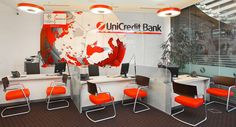 References - Offices - Unicredit Bank - Vilnius, Lithuania, 2011   Sitland Spa Banks Office, Private Banking, Lithuania, Offices, Conference Room, Spa, Table, Furniture, Home Decor
