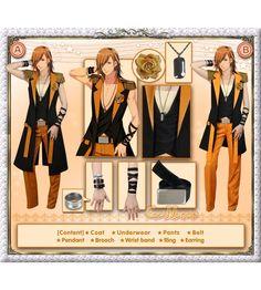 Uta no Prince-sama - Debut Stage Jinguji Ren Cosplay Costume [Deluxe Set] ** Read more at the image link.