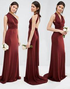 TFNC Tall Wedding Multiway Fishtail Maxi Dress