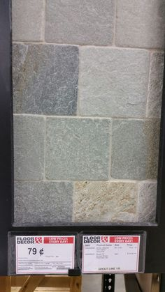 Decorative Slate Wall Tiles Dry Stack Random Slate Mosaic Tiles No Grout Joints Wall