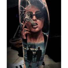 Marla Singer Fight Club Tattoo By Michael Taguet