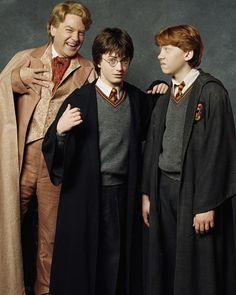 Harry, Ron and Gilderoy