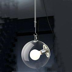 Mini Style Pendant Lights , Globe/Traditional/Classic Living Room/Dining Room – USD $ 115.99