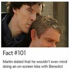 Benny and Martin both ship it