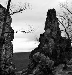 Dragon's tooth in Roanoke Virginia