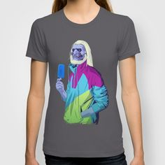 Buy GAME OF THRONES 80/90s ERA CHARACTERS - White Walker by Mike Wrobel as a high quality T-shirt. Worldwide shipping available at Society6.com. Just one of millions of products available.