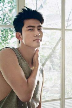 Korean Men, Korean Actors, 2pm Kpop, Hot Fan, Ok Taecyeon, Asian Celebrities, Gorgeous Men, Cute Boys, Boy Groups