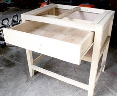 drawers installed in nightstands