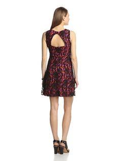 Eva Franco Women's Nova Dress (Fuchsia Lace)
