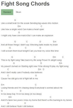 Red dress lyrics and chords for stand