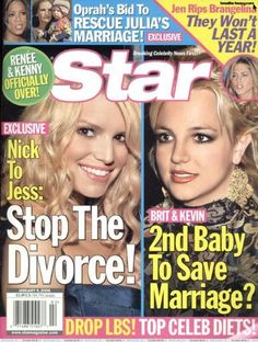 Britney Spears (date) issue] Britney Spears Pictures, Star Magazine, Saving A Marriage, Celebs, Celebrities, Oprah, Divorce, Celebrity News, Good Books