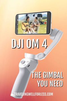 Say goodbye to shaky, unfocused videos, say hello to DJI OM 4. The DJI OM 4 is the newest smartphone gimbal stabilizer for your mobile phone. Whether you're a blogger, vlogger, have kids in sports, or just want the latest tech gadget, you're going to love the DJI OM 4. |DJI OM 4 |smartphone gimbal | #DJIOM4 gimbal #stablizer #travelwell4less Travel Items, Travel Gadgets, Travel Gifts, Travel Rewards, Travel Products, Travel Hacks, Solo Travel Tips, Travel Advice, Packing Tips For Vacation