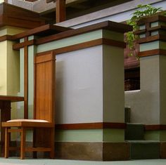 It is hard to beat Frank Lloyd Wright's clean designs.  Unity Temple. Frank Lloyd Wright. Oak Park, Illinois. 1905-9