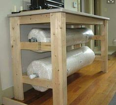 Cool way to store batting if i buy it in bulk...