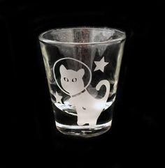 Kitty Cat In Outer Space Kitten Astronaut by IlluminatedLion