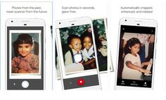 Google PhotoScan app for Android and iOS lets you scan old printed snaps