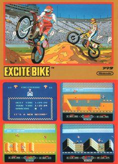 Excite Bike - Nintendo #nes #famicom #retro #games