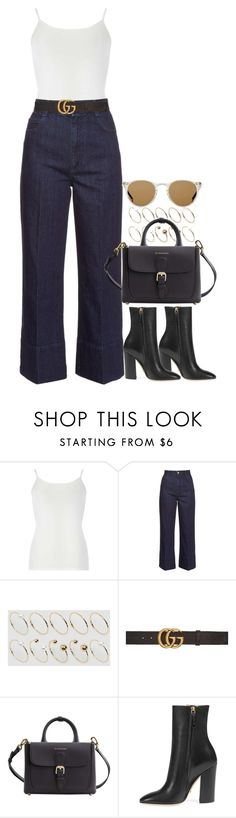 """""""#"""" by bruna-linda-12 on Polyvore featuring moda, Dorothy Perkins, STELLA McCARTNEY, ASOS Curve, Gucci, Burberry e Oliver Peoples"""
