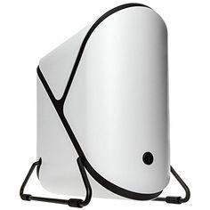 BitFenix Portal White Window SFX PSU Support Aluminium De...