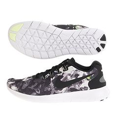 7589475e8ea7 NIKE Mens Free RN 2017 Solstice BlackBlackWhiteBarely Volt 10 M US    More  info could be found at the image url.