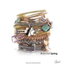Gisel - Artecora || Produzione Gioielli, Italy Bead Jewellery, Jewelry, Handmade Beads, Bangles, Bracelets, Doll, Fashion, Moda, Dolls
