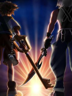 Fans of Kingdom Hearts have been dreaming of Kingdom Hearts 3 for consoles for ages now. However instead of that, Square dropped a new Kingdom Hearts game for the Many fans then became angry at Square for the distance they would have to go continue Kingdom Hearts 3, Kingdom Hearts Wallpaper, Video Game Art, Video Games, Shall We Date, After Life, Best Games, Awesome Games, Awesome Art