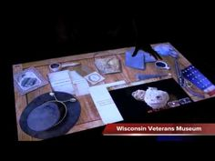 "Join the Wisconsin Veterans Museum's Curator Jeff Kollath as he takes you behind the scenes of the exhibit ""From Paper to Iron: Wisconsin Joins the Civil War. Museum Curator, Interactive Museum, Multi Touch, Wisconsin, War, Table, Ideas, Museums, Chart"