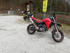 Yamaha XT 660 x & Honda fmx 650