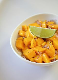 Mango Salsa by adventuressheart: So refreshing! #Salsa #Mango