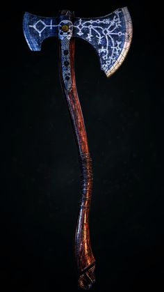 AXE God of War 4 by Anton Krasko on ArtStation.