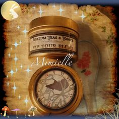 Emilie Autumn's VIP Tour Blend, we are brewing a pot this morning for the first time. Vip, Clock, Tours, Wall, Autumn, Home Decor, Watch, Decoration Home, Fall Season