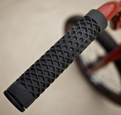 Bike Grips Made From Vans Waffle Sole