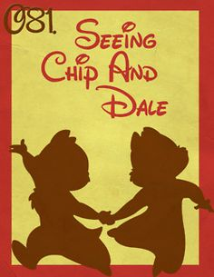 081: Seeing Chip and Dale