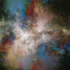 Colorful Painting Series Santa Fe Large abstract contemporaryTexas Dallas Houston Austin California New York Art