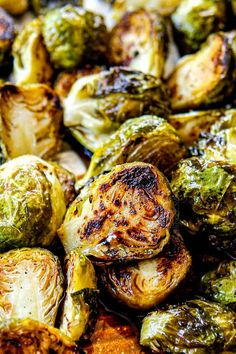 tossing Baked Brussels Sprouts on a baking sheet with salt and pepper Roast Recipes, Vegetable Recipes, Vegetarian Recipes, Cooking Recipes, Veggie Meals, Healthy Recipes, Vegetable Sides, Bread Recipes, Yummy Recipes
