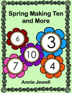 Spring Number Combinations for Ten and More Kindergarten Math Activities***14 Activities focusing on many Common Core Kindergarten Math Standards. Includes sequencing my size and height, counting on, patterns, number before and after, making ten, word problems, writing equations, addition and subtraction worksheets, sorting. Common Core: KCC2, KCC4, KOA1, KOA2, KOA3, KOA4, KOA5, KMD1, KMD2, KMD3.
